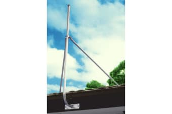 8' Stay Bars With Collar 2.4M Support For Mast Fascia Brkt