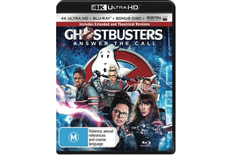 Ghostbusters 4K Ultra HD Blu-ray Digital Download UHD Region B