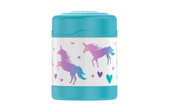 Thermos FUNtainer Stainless Steel Vacuum Insulated Food Jar 290ml Unicorn