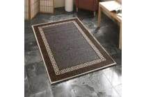 Indoor Outdoor Key Design Rug Brown 320x220cm