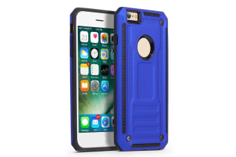 For iPhone 5  5S & SE Case  Shockproof Armor Sylish Protective Cover  Blue