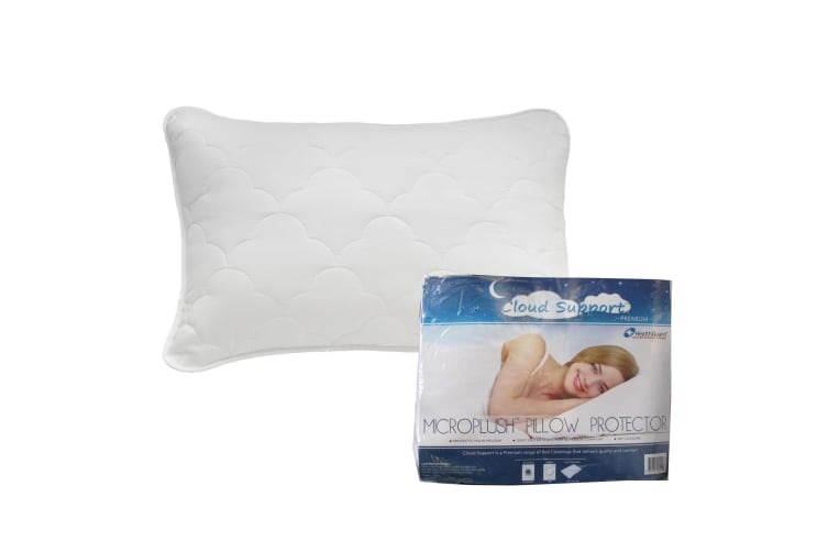1 x Cloud Support Microplush Pillow Protector by Easyrest