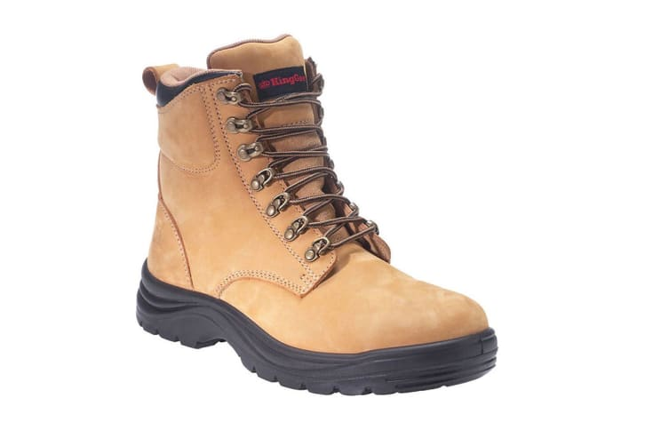 King Gee Men's Cook Nubuck Boot (Wheat, Size 11)