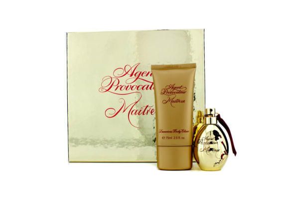 Agent Provocateur Maitresse Coffret: Eau De Parfum Spray 30ml/1oz + Luxurious Body Eixir 75ml/2.5oz (2pcs)