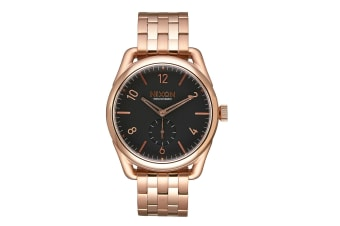 Nixon Men's 39mm C39 Stainless Steel Watch - Rose Gold/Black