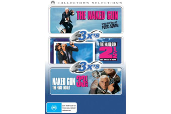 The Naked Gun Trilogy Box Set DVD Region 4