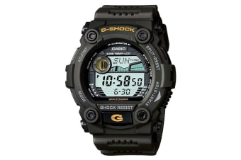 Casio G-Shock Digital Mens Green Tide Graph Watch G-7900-3DR