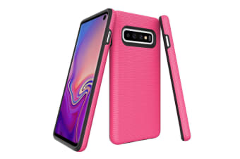 For Samsung Galaxy S10 Case  Armour Pink Protective Durable Slim Phone Cover