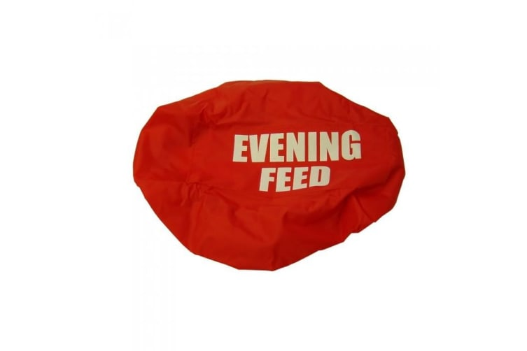 Bitz Evening Feed Bucket Cover (Navy) (One size)