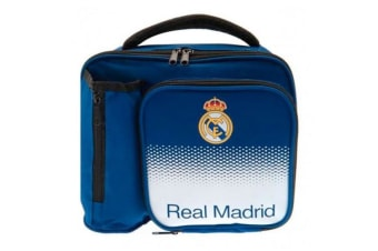 Real Madrid CF Fade Lunch Bag (Blue/White)