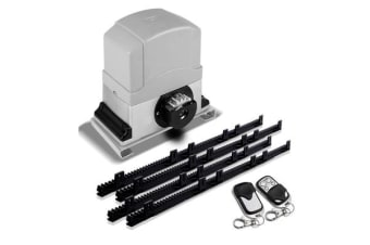 550W Automatic Sliding Gate Opener Kit with 4 Rails