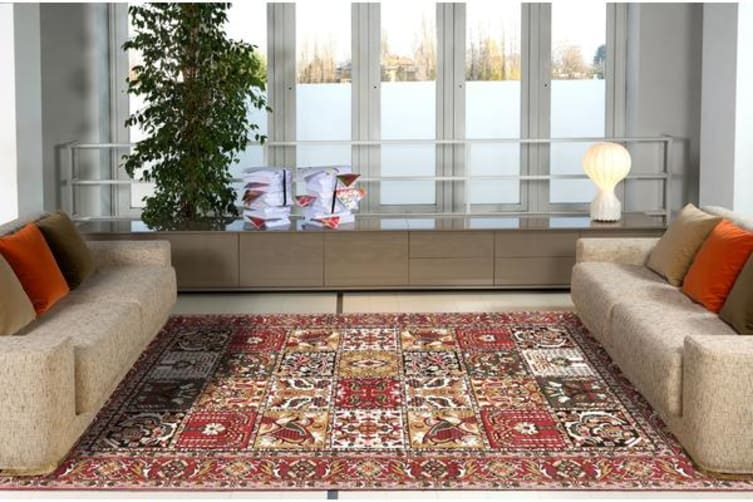 Traditional Compartment Pattern rug 330x240cm