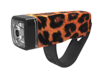 Knog Pop I Bike Front LED Bicycle Light/Torch Sports Cycling/Weather Leopard