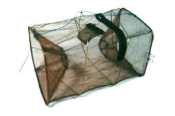 Seahorse Collapsible Shrimp/Bait Trap With 1 1/2 Inch Entry Rings