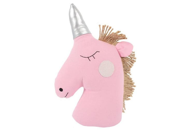 Something Different Unicorn Doorstop (Pink) (One Size)