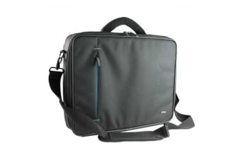 "OMP Apollo Series 2 Briefcase for 16"" Notebooks - Black/Blue Trim"