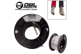 2 CORE 6MM x 20 METRES TINNED COPPER CABLE WIRE WIRING MARINE BOAT TRAILER OWL