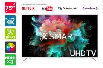 "Kogan 75"" Smart HDR 4K LED TV (Series 8 MU8010)"