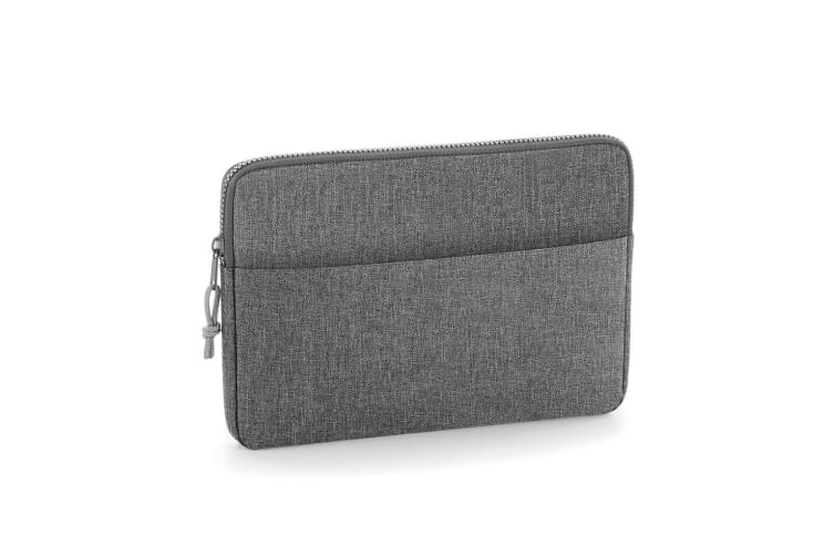 BagBase Essential 15in Laptop Case (Grey Marl) (One Size)