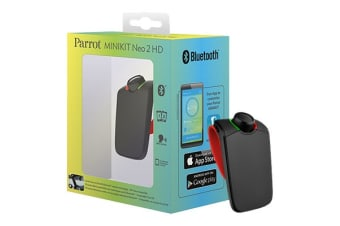Parrot Minikit Neo 2 HD Portable Bluetooth Hands-free Kit (Red)