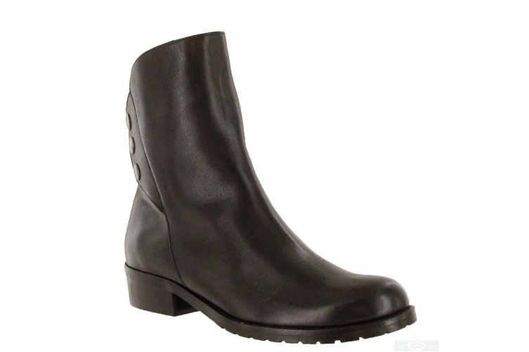 Riva Womens/Ladies Buttons Leather Ankle Boots (Brown) (6 UK)