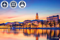 18 Day Croatia Tour & Mediterranean Cruise Including Flights for Two