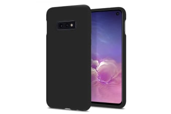 ZUSLAB Galaxy S10e Nano Silicone Case Shockproof Gel Rubber Bumper Protective Cover for Samsung - Black