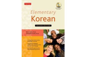 Elementary Korean - (Includes Audio Disc)