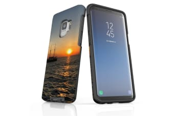 For Samsung Galaxy S9 Case Armour Cover  Sailing Sunset