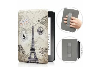 Leather Case Ultra Slim Magnetic Cover For Amazon All-new Kindle 10th Gen 2019-NO10 Pattern