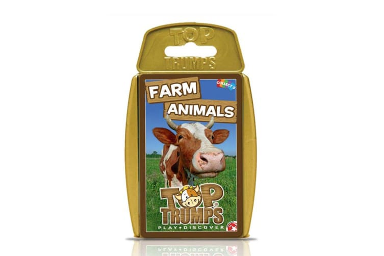 Top Trumps Farm Animals Educational Card Game 6y+ Family/Kids/Adult Toy