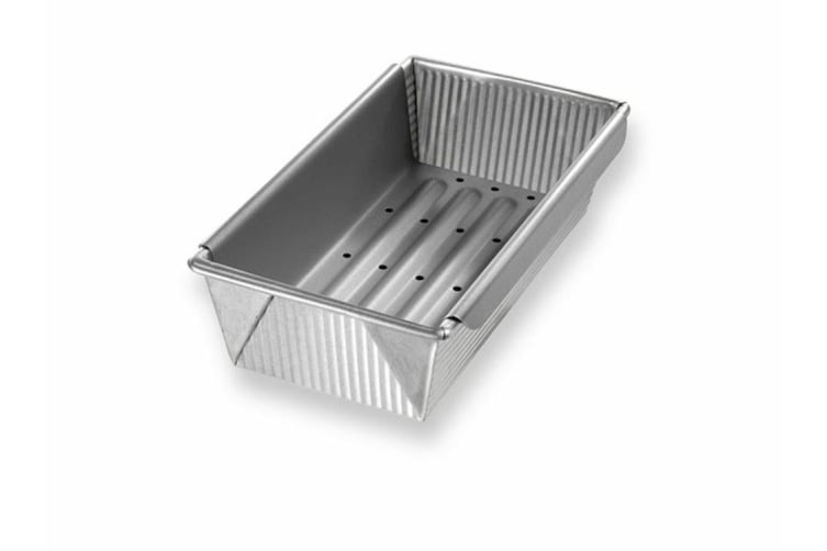 USA Pan Meat Loaf Pan with Insert 25.4x12.7x7.6cm