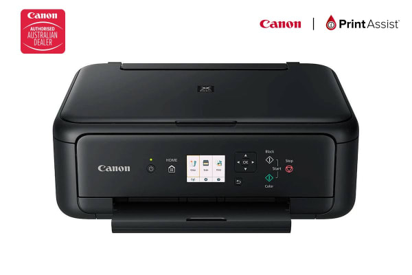 Canon PIXMA Home All-In-One printer with Wi-Fi and Bluetooth - Black (TS5160BK)