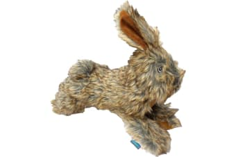Hemm & Boo Country Rabbit Dog Toy (Brown) (One Size)