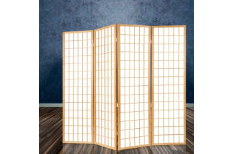 6 Room Divider Screen Wood Timber Dividers Panel Stand Privacy