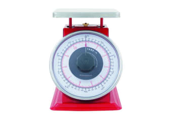 Savannah Professional Kitchen Scale 5kg Red