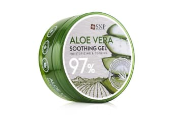 SNP 97% Aloe Vera Soothing Gel (Moisturizing & Cooling) 300g/10.58oz