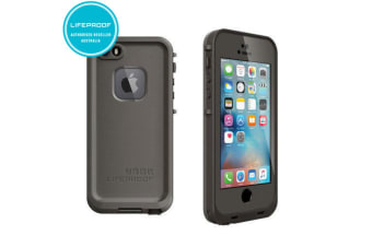 Grey Lifeproof Fre Case Waterproof Shockproof Drop Cover for iPhone 5/5S/SE