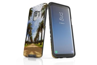 For Samsung Galaxy S9 Case Armour Cover  Palm Walkway Path