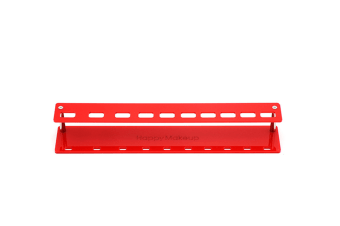 Cosmetic Brush 10-Hole Airing Bracket Removable Straight Plate Circular - Red Red Straight Board