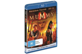 The Mummy : Tomb of the Dragon Emperor (Blu-ray)