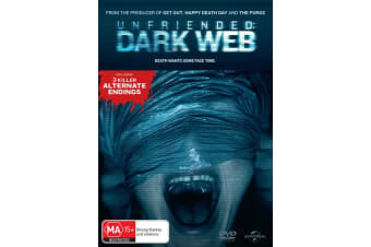 Unfriended Dark Web DVD Region 4