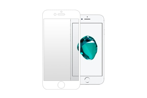 3 Pack Screen Protector for iPhone 7/8 (White)