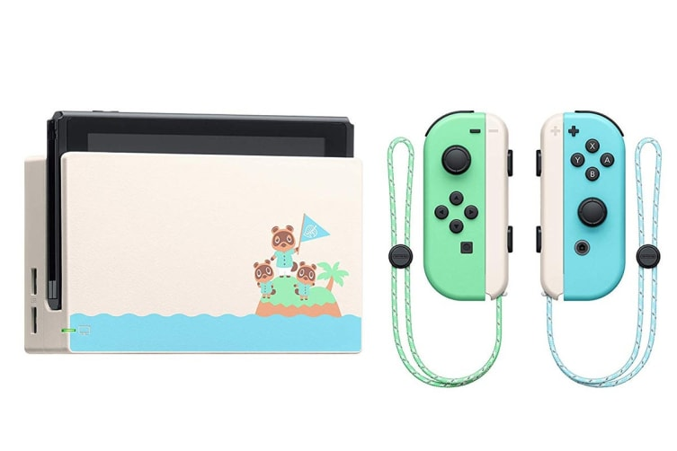 Nintendo Switch Console (2019) Animal Crossing: New Horizons Limited Edition