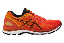 ASICS Men's Gel-Nimbus 19 Running Shoe (Red Clay/Gold Fusion/Phantom)