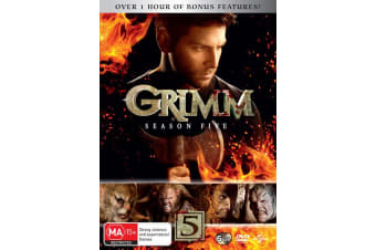 Grimm Season 5 DVD Region 4