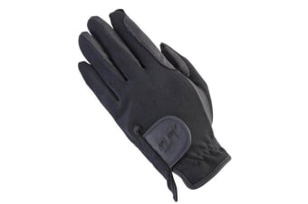 Mark Todd Childrens Super Riding Gloves (Black) (10-12 Years)