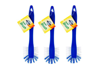 3PK Northfork Bottle/Pipe/Tube Brush w/ Handle Cleaning/Cleaner Tool Home