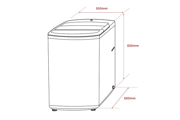 Kogan 7kg Top Load Washer