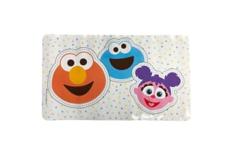 Sesame Street Bathroom/Bath/Shower Mat/Pad w/ Suction Cups for Baby/Infant 12m+